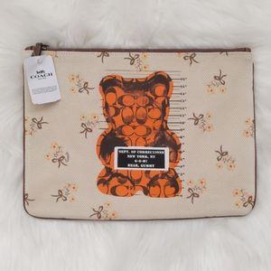 Coach - Gummy Bear Large Pouch (NWT)